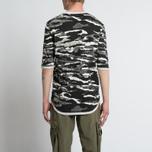 Мужская футболка maharishi Reversible Camo Tigerstripe Murale Black фото- 8