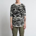 Мужская футболка maharishi Reversible Camo Tigerstripe Murale Black фото- 7