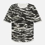 Мужская футболка maharishi Reversible Camo Tigerstripe Murale Black фото- 0