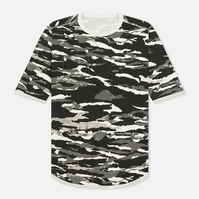 Мужская футболка maharishi Reversible Camo Tigerstripe Murale Black