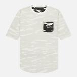 Мужская футболка maharishi Reversible Camo Tigerstripe Murale Black фото- 5