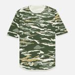 Мужская футболка maharishi Reversible Camo Tigerstripe Murale Forest фото- 0