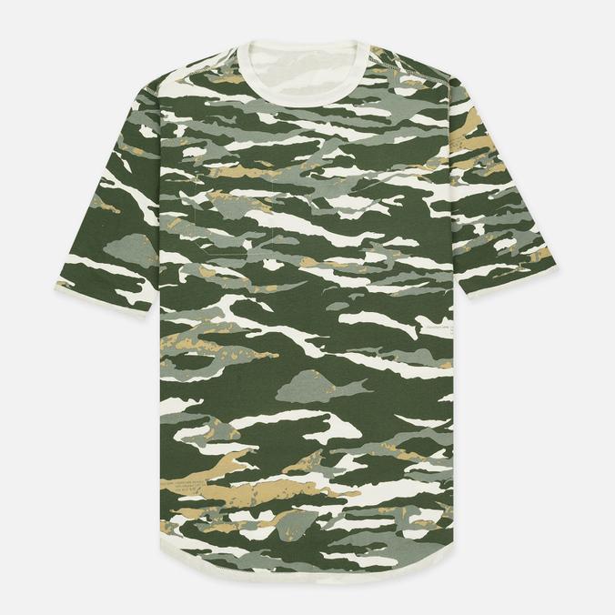 Мужская футболка maharishi Reversible Camo Tigerstripe Murale Forest