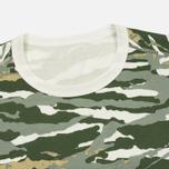 Мужская футболка maharishi Reversible Camo Tigerstripe Murale Forest фото- 1