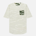 Мужская футболка maharishi Reversible Camo Tigerstripe Murale Forest фото- 2