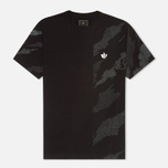 Мужская футболка Maharishi Temple Camo Black фото- 0