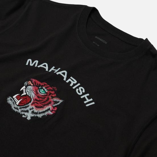 Мужская футболка maharishi Tiger Invasion Black