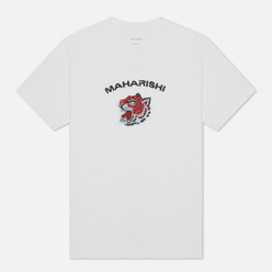 Мужская футболка maharishi Tiger Invasion White