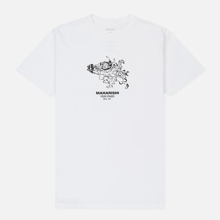 Мужская футболка maharishi Zenshin White