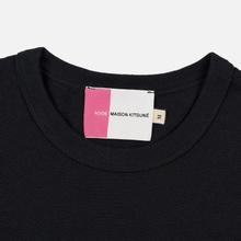 Мужская футболка Maison Kitsune Acide Fox Patch Black фото- 1