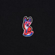Мужская футболка Maison Kitsune Acide Fox Patch Black фото- 2