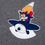 Мужская футболка Maison Kitsune Airman Black Melange фото- 3