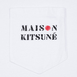 Мужская футболка Maison Kitsune Army White фото- 3