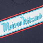 Мужская футболка Maison Kitsune Band Navy фото- 3