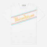 Мужская футболка Maison Kitsune Band White фото- 0