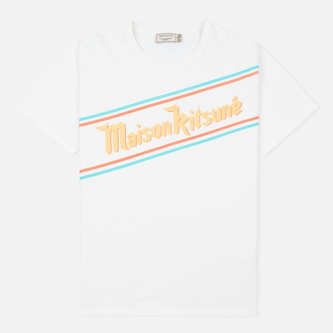 Мужская футболка Maison Kitsune Band White