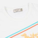 Мужская футболка Maison Kitsune Band White фото- 2