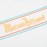 Мужская футболка Maison Kitsune Band White фото- 3