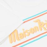Мужская футболка Maison Kitsune Band White фото- 4