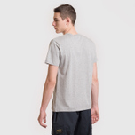 Мужская футболка Maison Kitsune Fox Head Patch Grey Melange фото- 5