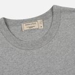 Мужская футболка Maison Kitsune Fox Head Patch Grey Melange фото- 1