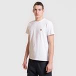 Мужская футболка Maison Kitsune Fox Head Patch White фото- 3