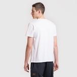 Мужская футболка Maison Kitsune Fox Head Patch White фото- 5