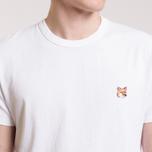 Мужская футболка Maison Kitsune Fox Head Patch White фото- 4