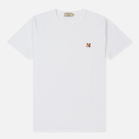 Мужская футболка Maison Kitsune Fox Head Patch White