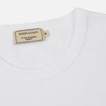 Мужская футболка Maison Kitsune Fox Head Patch White фото- 1