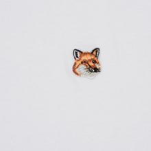 Мужская футболка Maison Kitsune Fox Head Patch White фото- 2