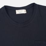 Мужская футболка Maison Kitsune Fox Patch Black фото- 1