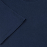 Maison Kitsune Fox Patch Men's T-shirt Navy photo- 3