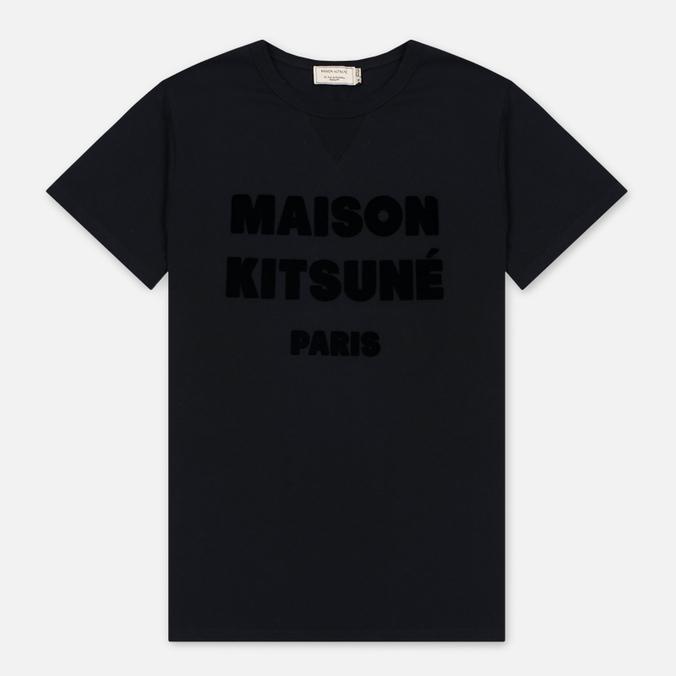 Мужская футболка Maison Kitsune Hair Print Black