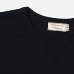 Мужская футболка Maison Kitsune Hair Print Black фото- 1