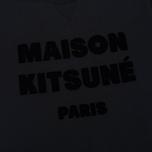 Мужская футболка Maison Kitsune Hair Print Black фото- 3