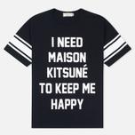 Мужская футболка Maison Kitsune I Need Black фото- 0