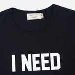 Мужская футболка Maison Kitsune I Need Black фото- 2