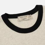 Мужская футболка Maison Kitsune MK 08 Ecru Melange фото- 1