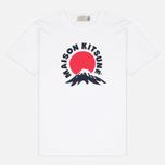 Мужская футболка Maison Kitsune Mont Fuji White фото- 0