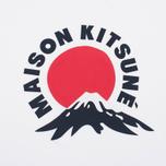 Мужская футболка Maison Kitsune Mont Fuji White фото- 3