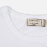 Мужская футболка Maison Kitsune Mont Fuji White фото- 2