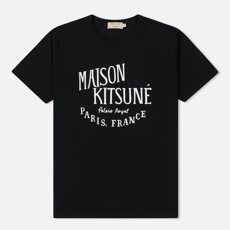 Мужская футболка Maison Kitsune Palais Royal Black