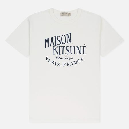 Мужская футболка Maison Kitsune Palais Royal Latte