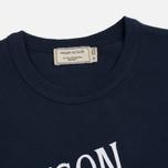 Мужская футболка Maison Kitsune Palais Royal Navy фото- 1