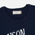 Maison Kitsune Palais Men's T-Shirt Royal Navy photo- 1