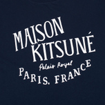 Maison Kitsune Palais Men's T-Shirt Royal Navy photo- 2