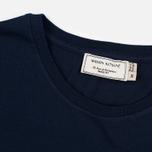 Мужская футболка Maison Kitsune Palais Royal Navy фото- 3