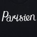 Мужская футболка Maison Kitsune Parisien Black фото- 3