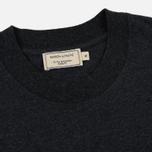 Мужская футболка Maison Kitsune Pen Pocket Anthracite Melange фото- 1